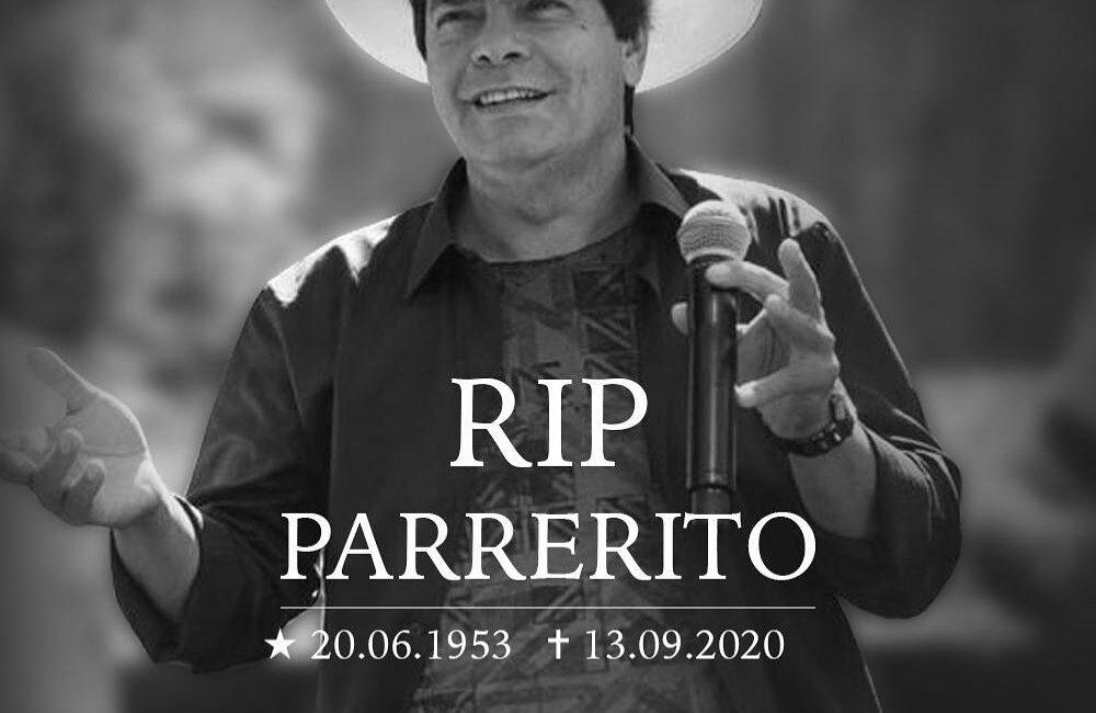 Morre Parrerito, do Trio Parada Dura, vítima do coronavírus