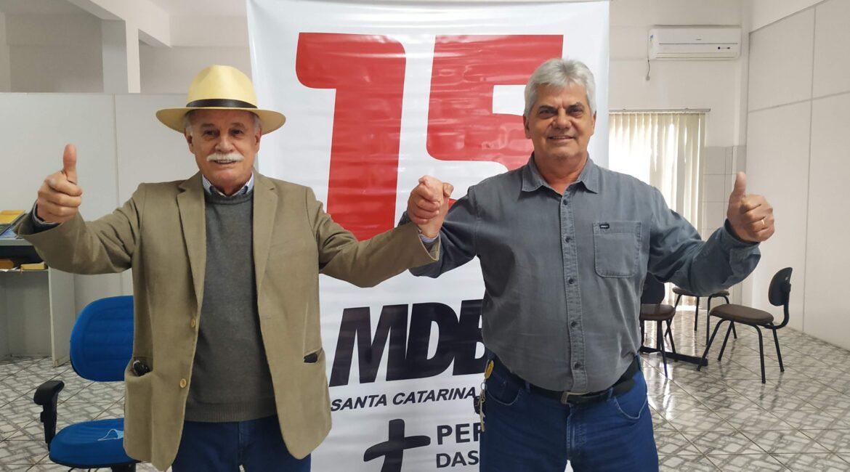 Jairo e Domingos são pré-candidatos em Itá; veja nomes para o Legislativo