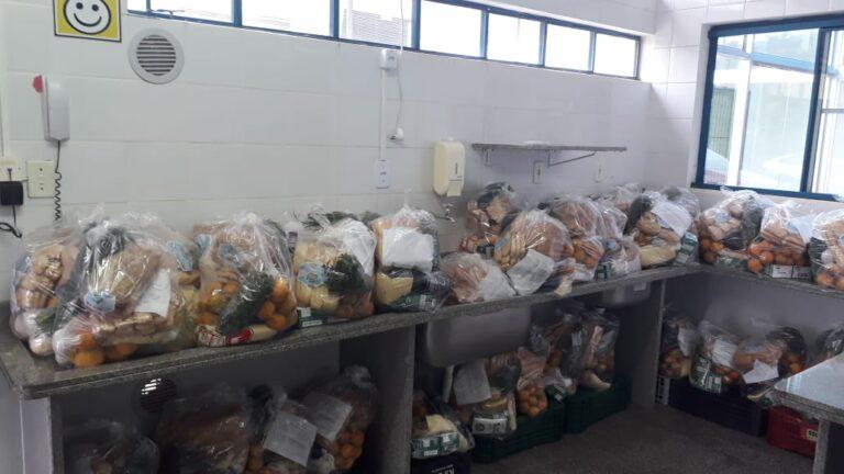 Secretaria de Educação de Seara realiza entrega dos Kits Emergenciais de Alimentação