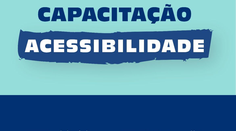 Curso de capacitação acessibilidade começa quinta-feira, 15