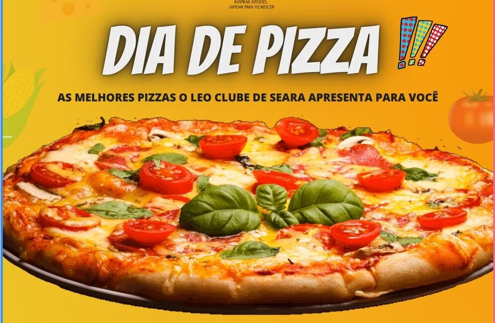 "(AÚDIO) LEO Clube de Seara realiza ""PizzaLEO"" no sábado, 17"