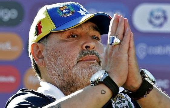 Maradona: um excelente jogador, mas bem distante de ter sido um grande atleta