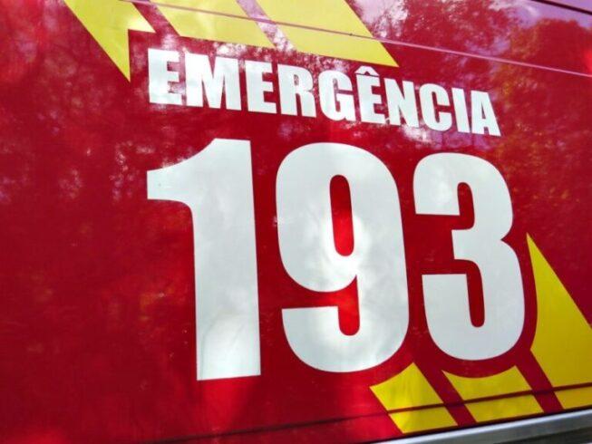 Bombeiros resgatam vítima de afogamento em Itá
