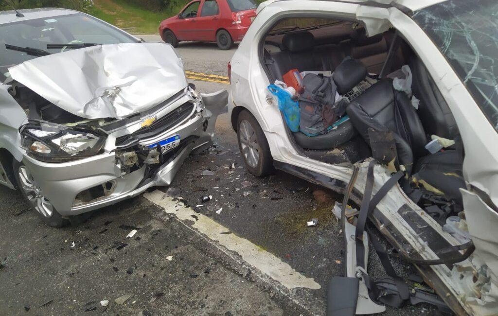 Carro de Arvoredo se envolve em acidente de trânsito grave