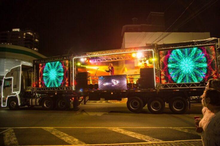 Show itinerante ocorre em Itá e região neste fim de ano