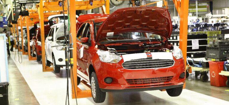 Ford encerra produção de veículos no Brasil