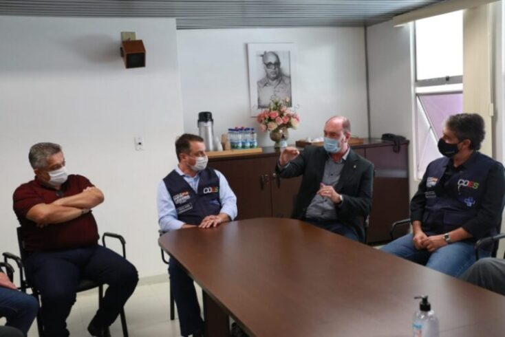 Presidente da Alesc acompanha situação da Covid-19 no Oeste e confirma doação