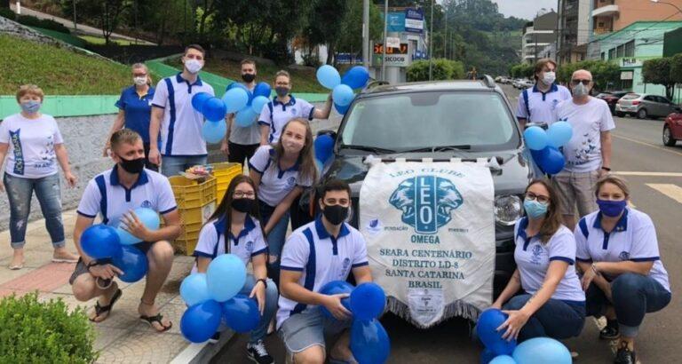 LEO Clube de Seara comemora 4 anos de atividades