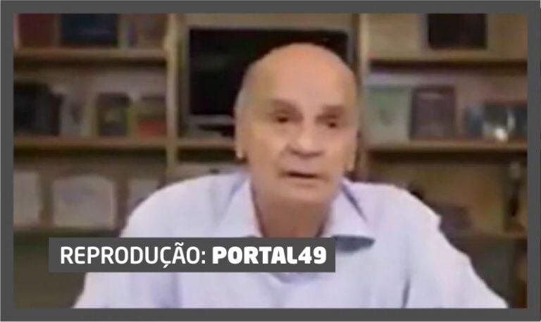 """(VÍDEO) O """"resfriadinho de nada"""" que ludibriou o conceituado médico midiático Drauzio Varella"""