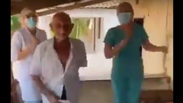 (VÍDEO) Viralizou: Idoso de 89 anos comemora vacinação com dança da música 'Bum Bum Tam Tam'