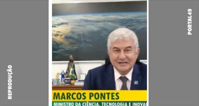 (VÍDEO) Ministro da Ciência, Tecnologia e Inovação manda recado para estudantes de Seara