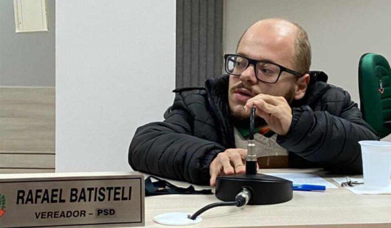 "Covid-19: Vereador Rafael Batisteli alerta: ""Precisamos manter todos os cuidados"""