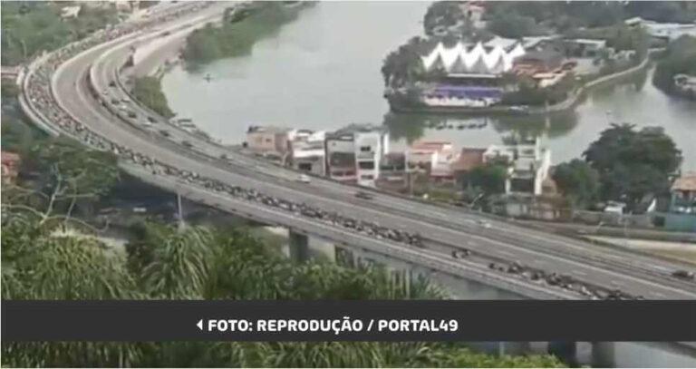 """(VÍDEO) Bolsonaro: """"Certamente o maior passeio motociclístico da história do Brasil"""""""