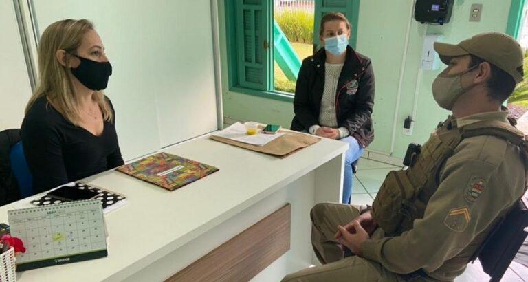Escola Segura: Consultoria de prevenção escolar é realizada em Arvoredo