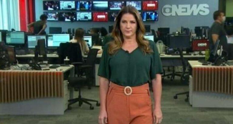 (VÍDEO) Christiane Pelajo desabafa ao abandonar estúdio da GloboNews: 'Impossível trabalhar nesse lugar'