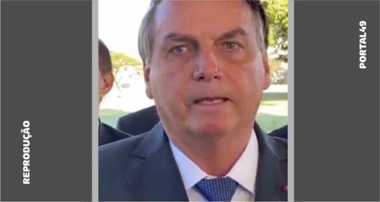 """""""Eu errei"""", admite Bolsonaro sobre dados de relatório do TCU"""