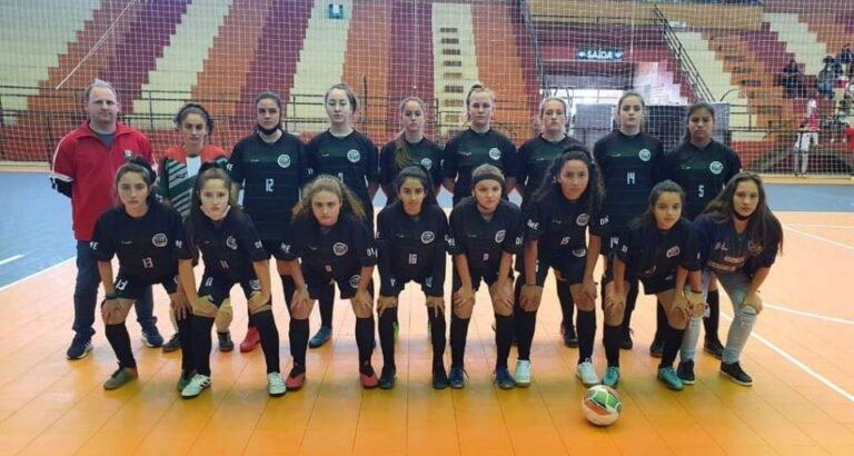 Atletas de Arvoredo são vice-campeãs da Copa Dal Ponte de Futsal Feminino