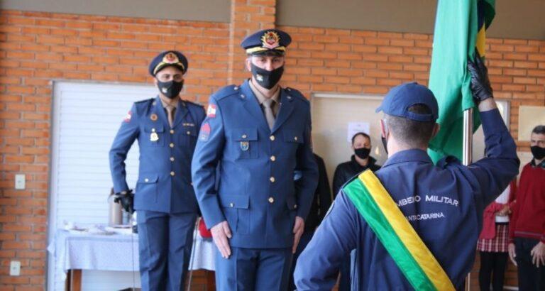 Solenidade: Primeiro comandante do Corpo de Bombeiros toma posse em Itá