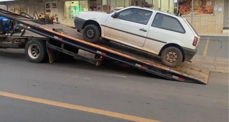 (VÍDEO) Veículo é apreendido por PM de Seara após ações irregulares em via pública