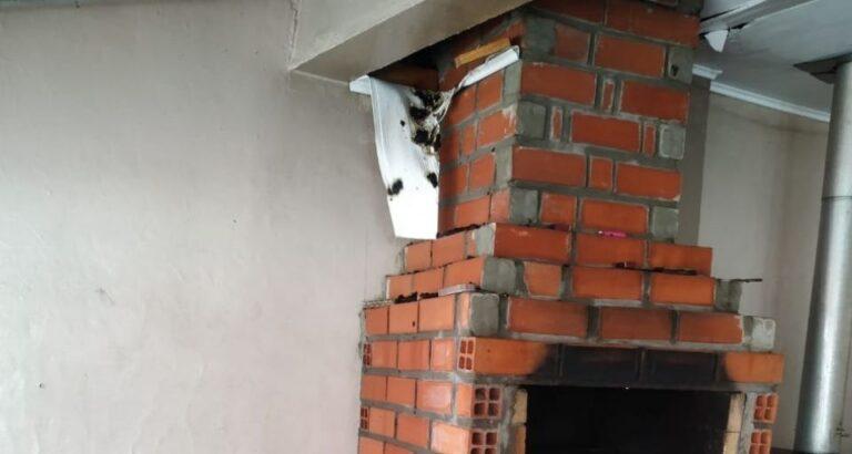 Bombeiros atendem ocorrência de princípio de incêndio na cidade de Seara