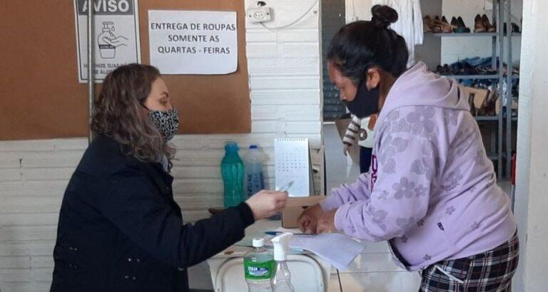 Assistência Social de Seara amplia movimento de solidariedade com a chegada do frio; veja como doar