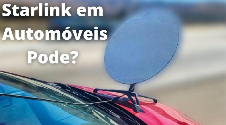 (VÍDEO) Motorista é multado por instalar antena Starlink no carro