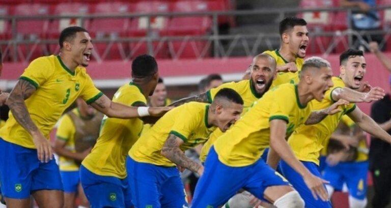 Nos penâltis, Brasil vence México e está na final do futebol em Tóquio