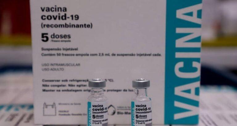 Seara e municípios da região recebem novas doses da CoronaVac e Pfizer; veja quantidade
