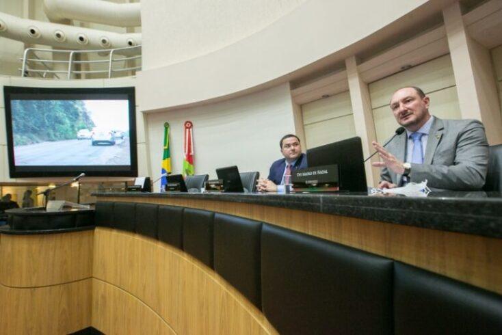 """Presidente da Alesc critica radares em BRs """"precárias"""" e pede desligamento dos equipamentos"""