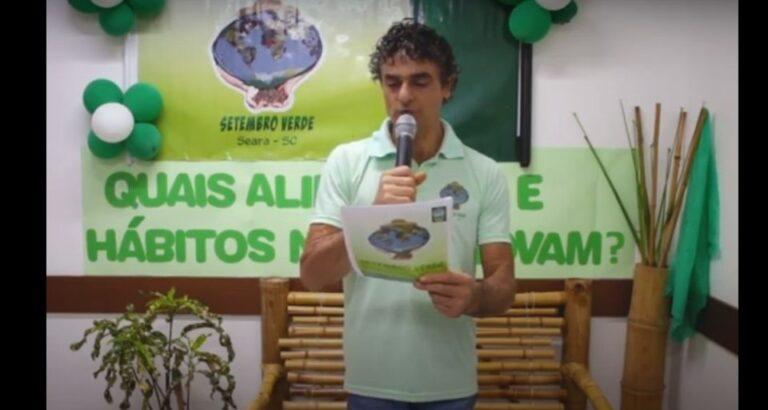 (AO VIVO) Lançamento da campanha Setembro Verde de Seara; confira programação