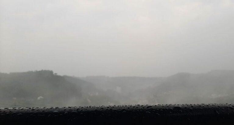 Seara: Dia amanhece com chuva e meteorologia reforça aviso de temporais