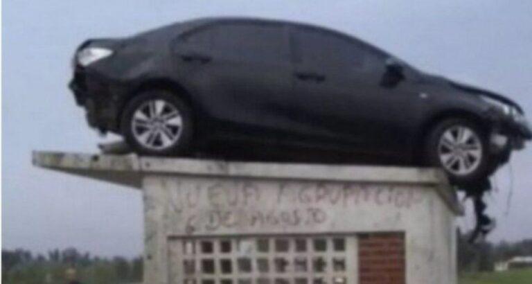 Episódio inusitado: 'Carro voador' na Argentina atualiza definições de estacionamento