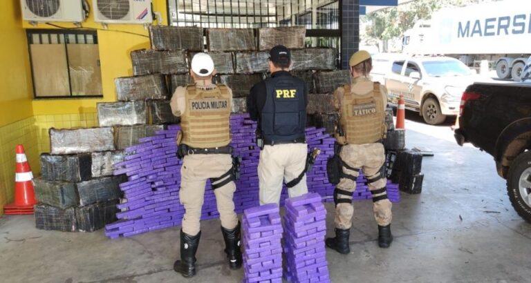 Homem preso em Itá com grande quantia de drogas responderá por três crimes