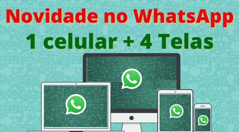 (VÍDEO) Como conectar até 4 dispositivos a um único WhatsApp
