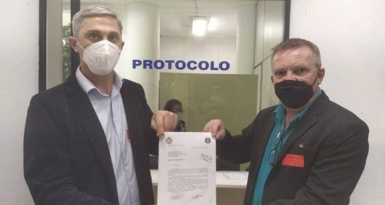 Executivo de Itá solicita recuperação asfáltica na SC-155