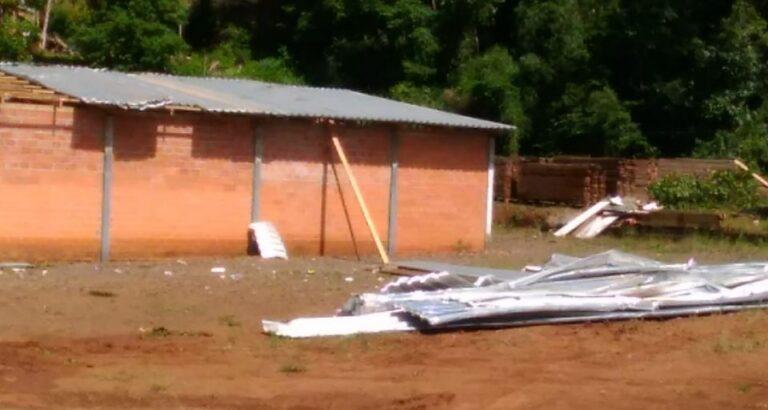 (FOTOS) Descartado o registro de tornado em Seara
