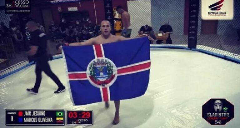 Lutador de Itá participa de evento de MMA neste sábado, 16