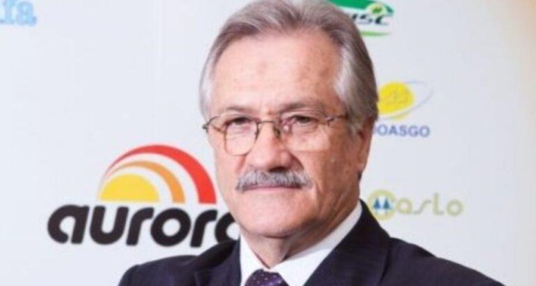 Há um ano falecia o presidente da Aurora, o empresário Mário Lanznaster