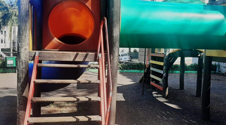 Seara: Após reclamações de moradores, brinquedos de parque foram revitalizados